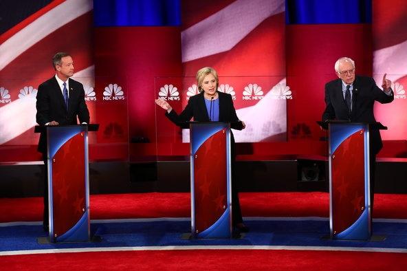 Ba Clinton cong kich doi thu trong tranh luan lan cuoi hinh anh 1