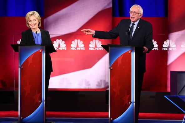 Ba Clinton cong kich doi thu trong tranh luan lan cuoi hinh anh 2