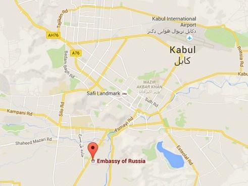 Danh bom gan su quan Nga o Kabul, 4 nguoi chet hinh anh 2