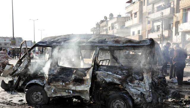 45 nguoi chet trong vu danh bom tai den tho o Syria hinh anh