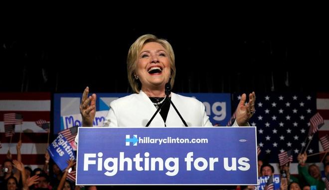 Sieu thu ba: Clinton va Trump lien tiep thang hinh anh 2