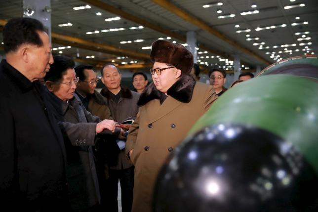 Kim Jong Un ra lenh tiep tuc thu nghiem hat nhan hinh anh 1