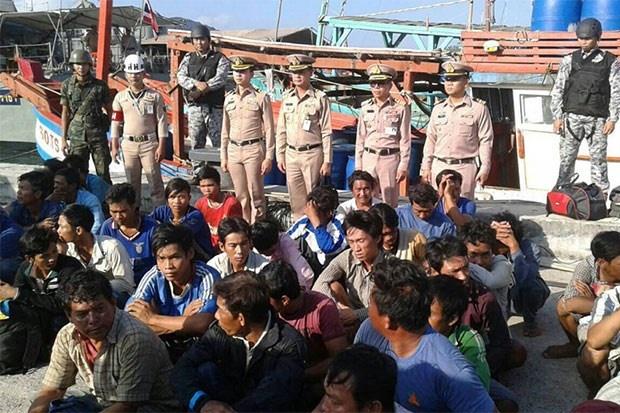 Thai Lan bat them 5 tau ca va 37 ngu dan Viet Nam hinh anh 1