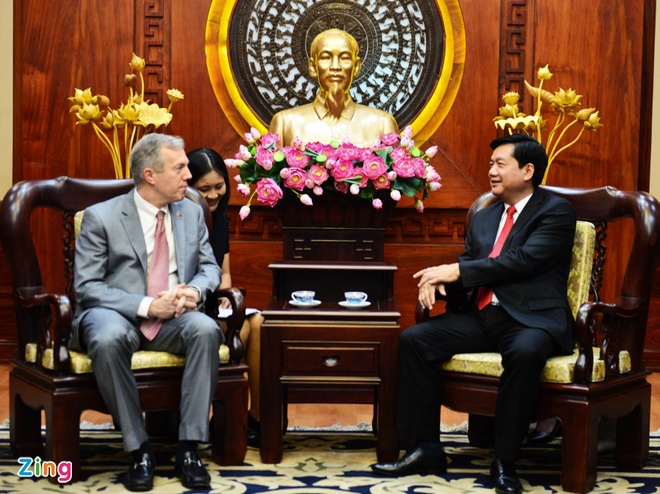 Bi thu Thang: TP HCM da chuan bi de don Tong thong Obama hinh anh 1