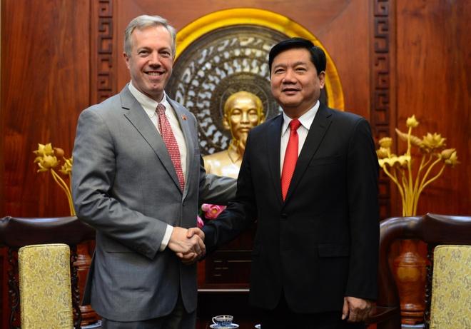 Bi thu Thang: TP HCM da chuan bi de don Tong thong Obama hinh anh