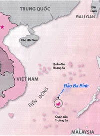 Dai Loan dua hoc gia ra dao Ba Binh trai phep hinh anh 2