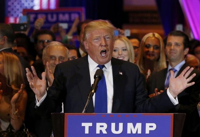 Bau cu so bo o New York: Clinton va Trump thang lon hinh anh