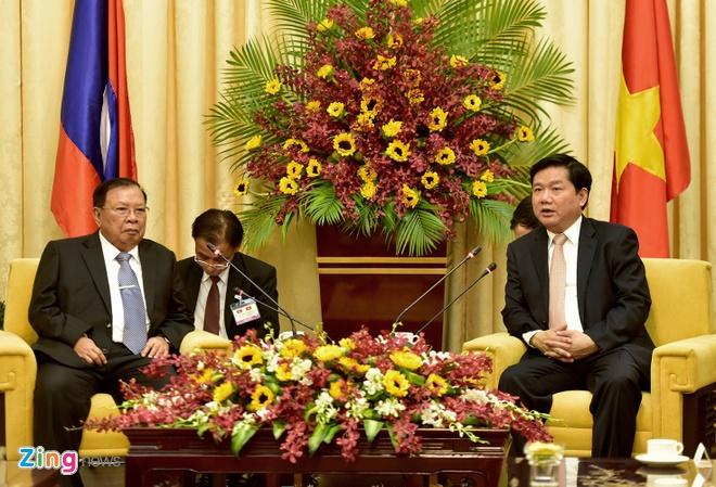 Bi thu Thang: Tinh thuy chung Viet - Lao mai xanh tuoi hinh anh