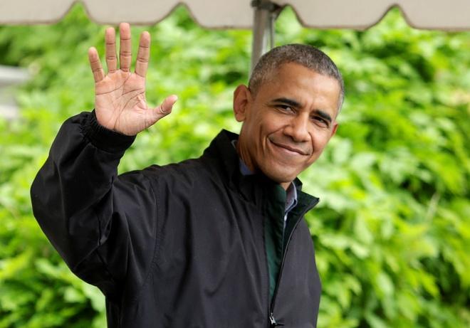 Tong thong Obama roi Washington, len duong toi Viet Nam hinh anh