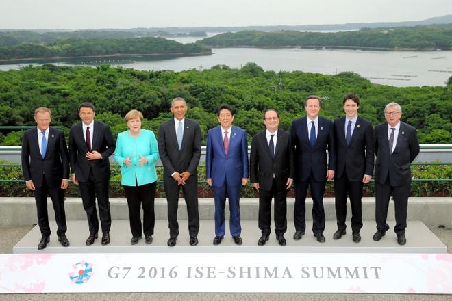 Tuyen bo chung cua G7 lo ngai tinh hinh Bien Dong hinh anh 1