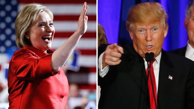 Ba Clinton tuyen bo chien thang trong bau cu so bo hinh anh 1