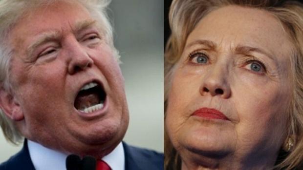 Vu tham sat hop dem thanh diem nong doi dau Trump - Clinton hinh anh 1