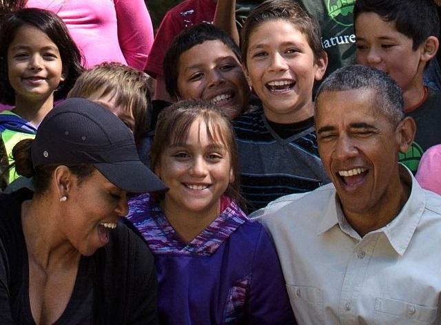 Obama keu goi bao ve moi truong khi di nghi cuoi tuan hinh anh