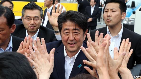 Bau cu thuong vien Nhat: trung cau dan y voi Abenomics hinh anh