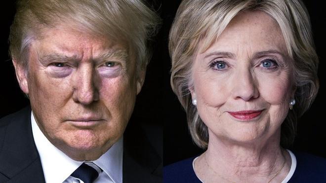 Ty phu Donald Trump bat ngo bo xa ba Hillary Clinton hinh anh 1