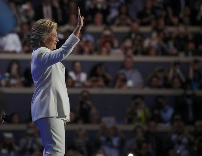 Clinton nhan de cu ung vien TT: 'Nuoc My khong so hai' hinh anh 1