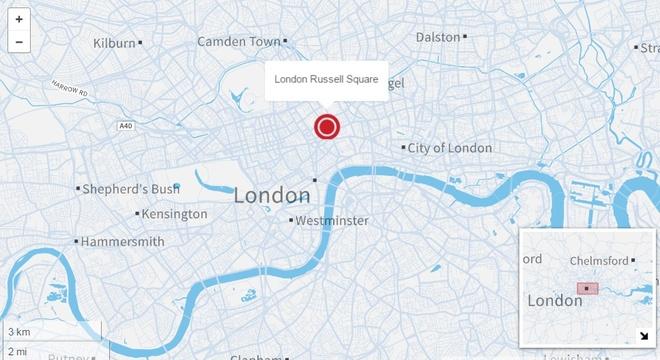 dam dao chet nguoi o London anh 1