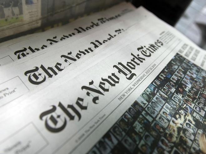 Nga bi to tan cong mang phong vien bao New York Times hinh anh 1