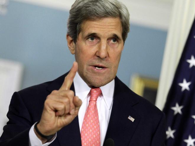 John Kerry: Khong the dung quan su cho tranh chap Bien Dong hinh anh