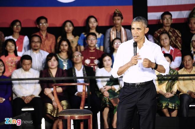 'Bat tay Tong thong Obama la co hoi co mot khong hai' hinh anh 2