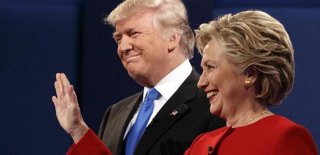 Trump thuc su thua sau man tranh luan dau tien voi Hillary hinh anh
