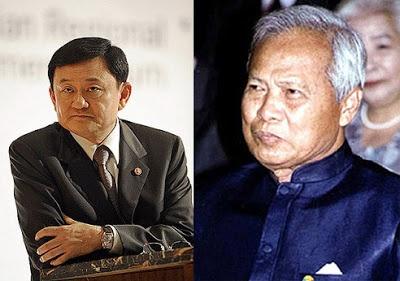 Ong Thaksin va cuoc doi dau that bai voi tuong Prem hinh anh