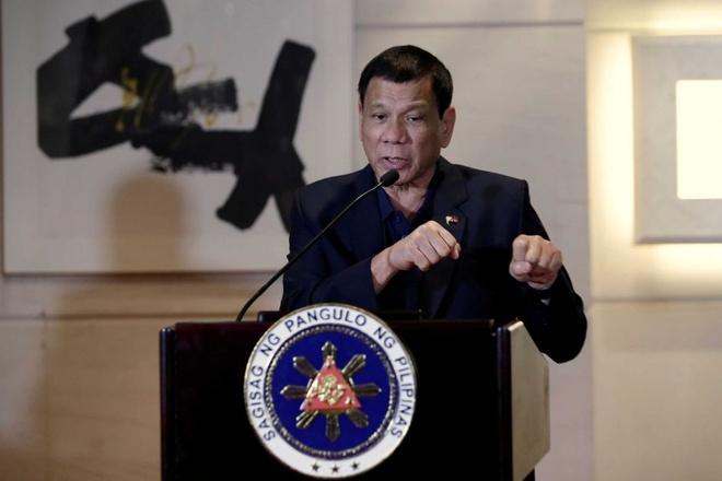 Tong thong Duterte xuc pham Obama anh 1