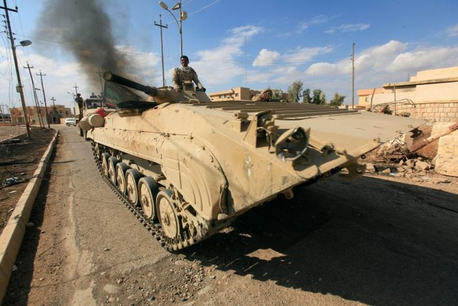 phien quan IS bi danh duoi o Mosul anh 1
