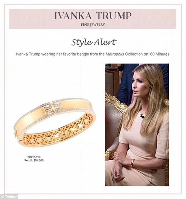 Ivanka Trump bi chi trich anh 1