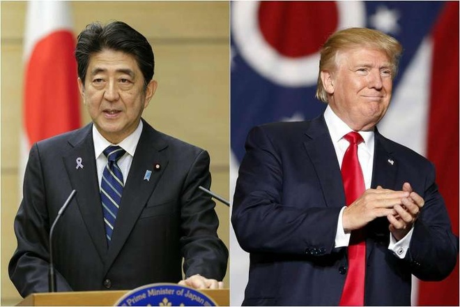 Ong Abe gap Trump: Trao doi 'thang than', se gap nhau them hinh anh