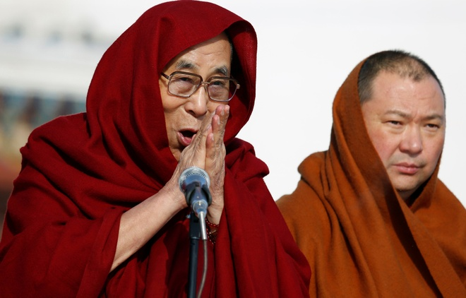 Mong Co don tiep Dalai Lama bat chap Trung Quoc gian du hinh anh
