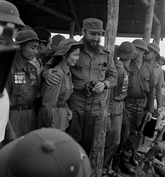 Lanh tu Cuba Fidel Castro va tinh cam sau nang voi Viet Nam hinh anh 4