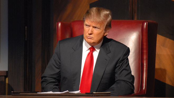 Sap lam tong thong, Trump van khong bo truyen hinh thuc te hinh anh