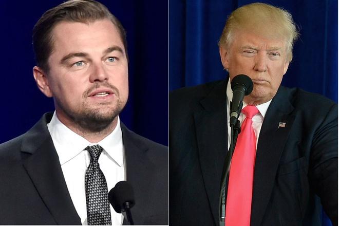 Leonardo DiCaprio gap Trump anh 1