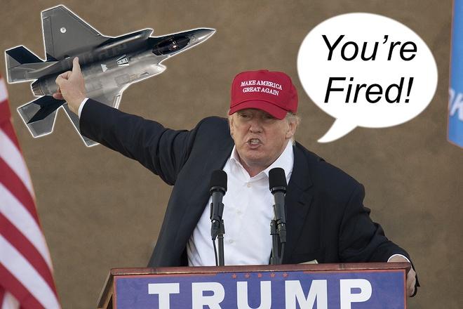 Trump len an chuong trinh tiem kich dat nhat the gioi F-35 hinh anh