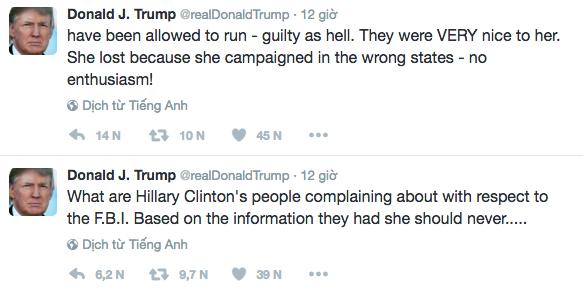 Ong Trump chi trich ba Clinton 'toi loi chong chat' hinh anh 1