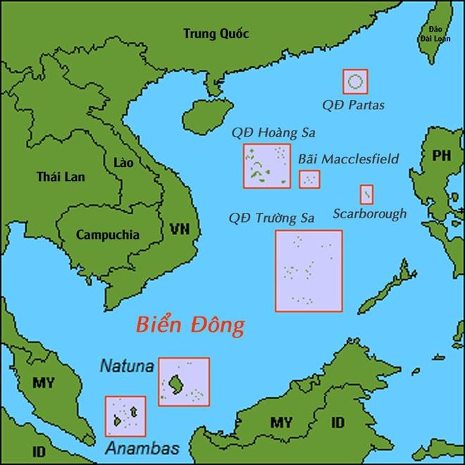 May bay Trung - My cham tran o Bien Dong hinh anh 2