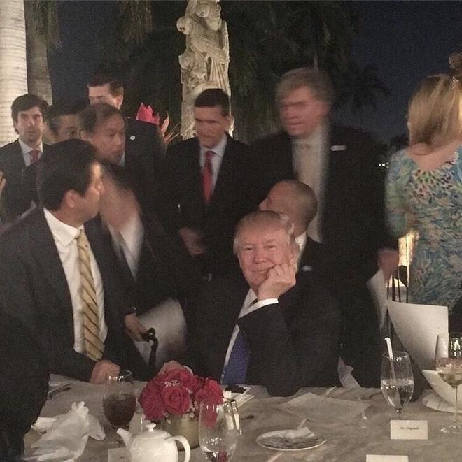Trump xu ly Trieu Tien ngay tiec toi anh 4