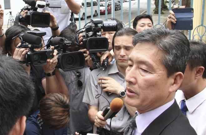 Doan Trieu Tien doi tha nghi pham trong nghi an Kim Jong Nam hinh anh 1