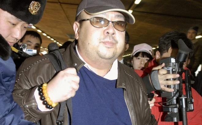 Canh sat khong dung hinh xam de xac dinh nan nhan nghi an Kim Jong Nam hinh anh
