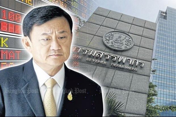 cuu thu tuong Thaksin bi truy thu thue anh 1