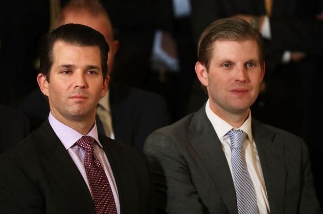 con trai cua Trump noi ve con ong chau cha anh 2
