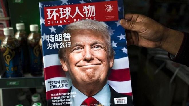 Tap Can Binh gap Donald Trump anh 2