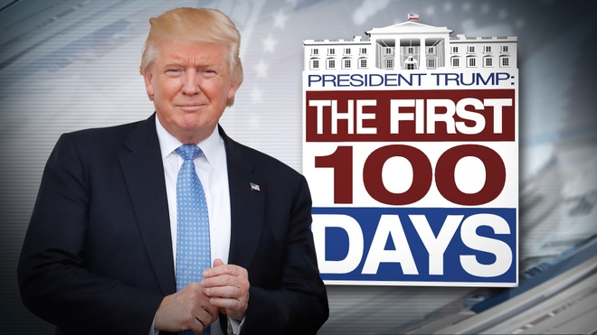 Sau 100 ngay, Trump van 'dung dao mo trau giet ga' hinh anh
