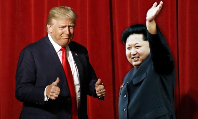 Trump khen Kim Jong Un thong minh anh 1