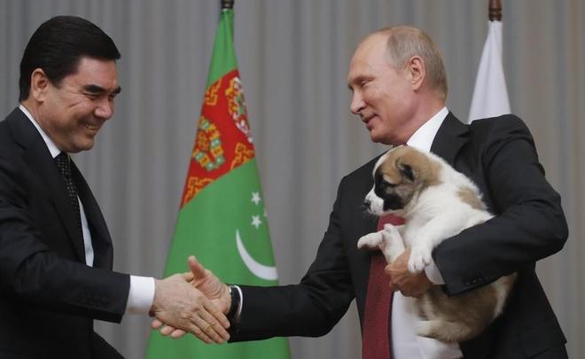 Tong thong Putin duoc tang cho nhan dip sinh nhat hinh anh 1