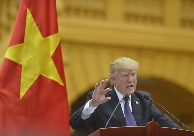 Nhung bat ngo tu chuyen tham VN cua Tong thong Trump hinh anh