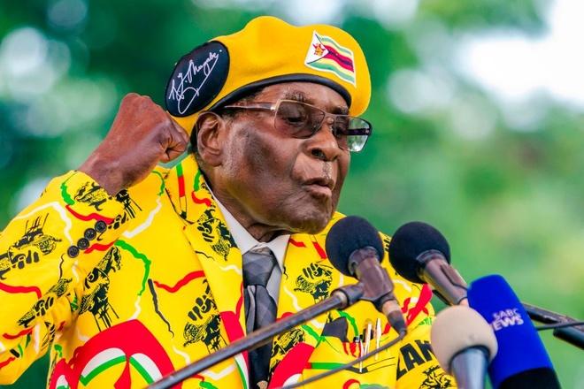 Con duong khang khang giu 'ngai vang' cua tong thong Zimbabwe hinh anh