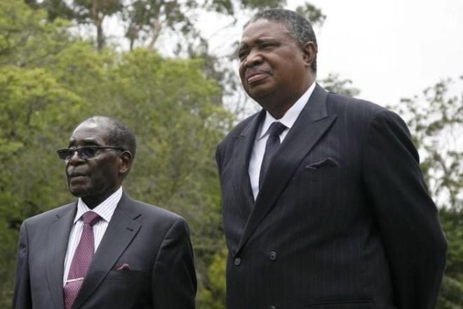 Doi thu dang gom khien Tong thong Mugabe phai rut lui hinh anh