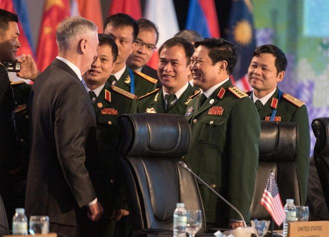 Bo truong Mattis den VN: Vai tro quan trong cua My doi voi khu vuc hinh anh